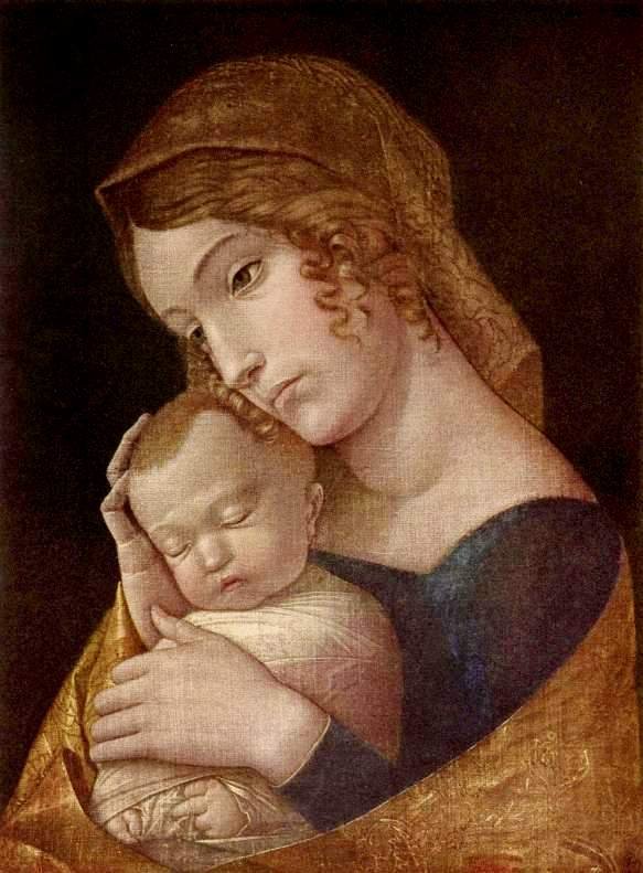 Andrea_Mantegna_Virgin_sleeping_child-1